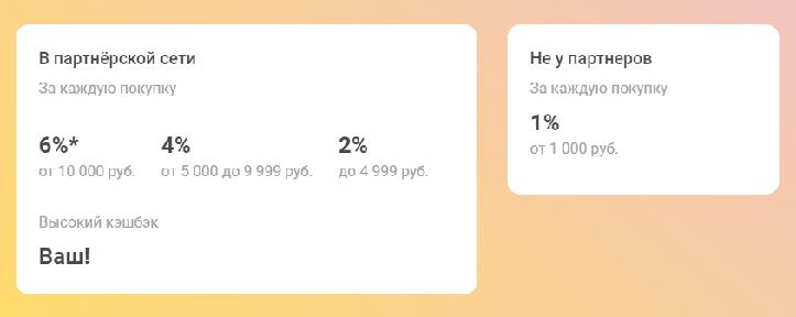 кешбэк карты рассрочки от Совкомбанка